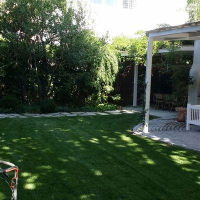 Mantenimiento en jardín particular