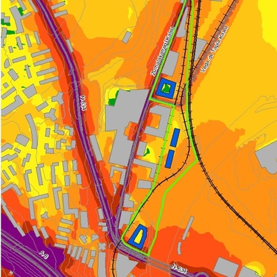 Estudio Impacto acústico de desarrollo urbanístico en Barakaldo