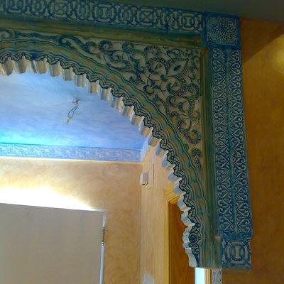 Arco arabe en estilo Granada