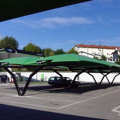 Marquesinas de pvc para parking