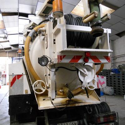 Camión cuba 5- Camión cisterna mixto en Desatascos Cubacas