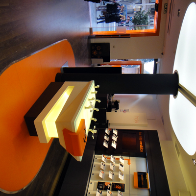 Mesa tienda Orange