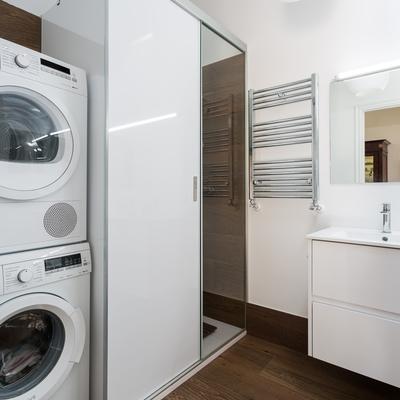 baño lavanderia