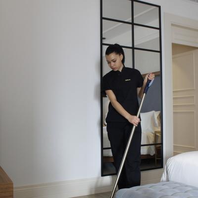 Limpieza habitaciones de hotel