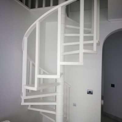 Escalera. Reforma vivienda.
