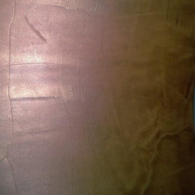Microcemento acabado en veladura metalica