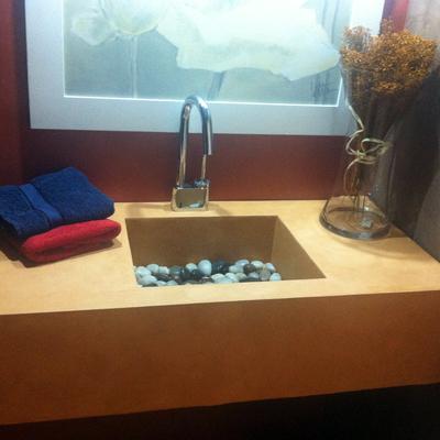 microcemento baño