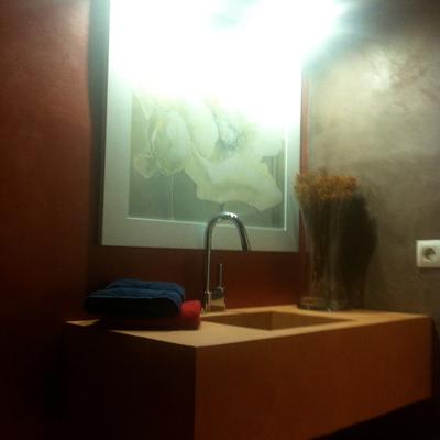 microcemnto baño
