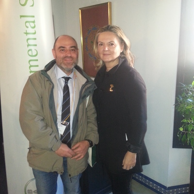 Pilar Mateo y Miguel Gallego