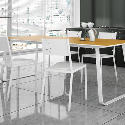 Mesa porcelanico con techlam
