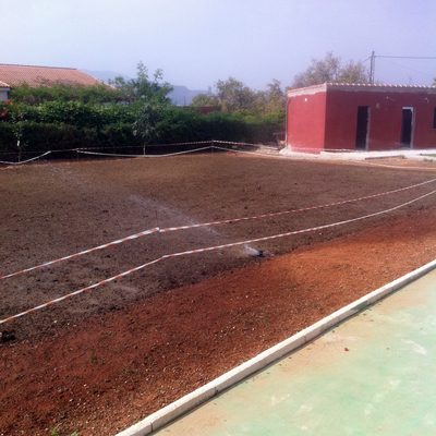Mini campoo futbol