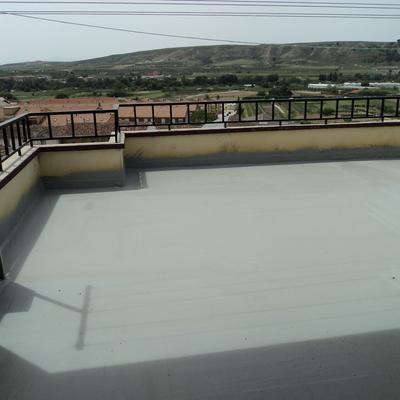 poliurea terraza