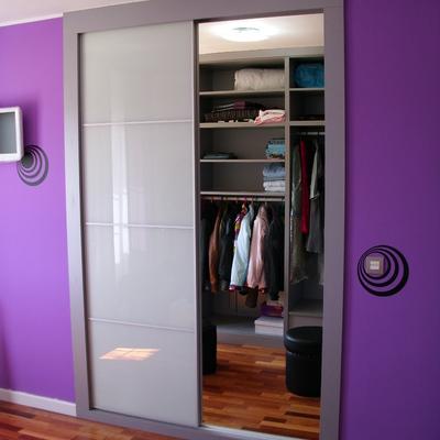 mismo frente de armario separado