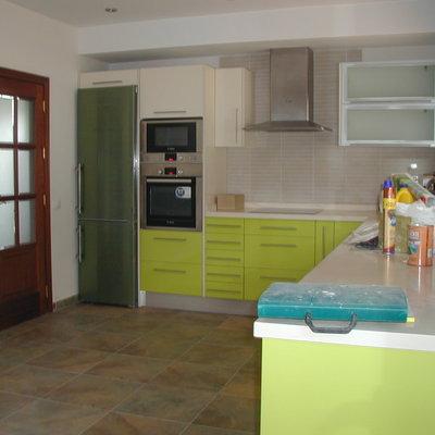 Reforma de cocina y mobiliario.