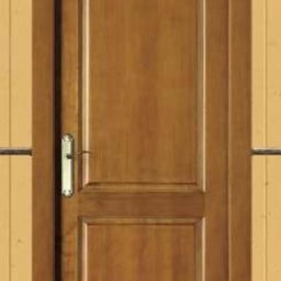 Puerta de madera de interior