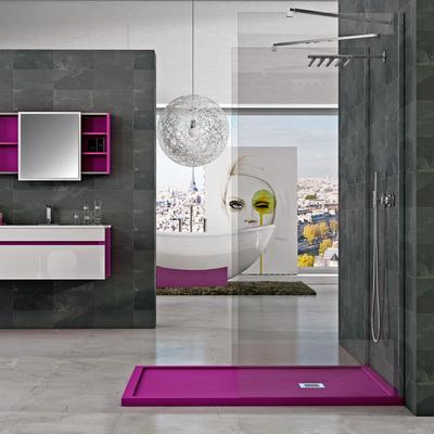 Innova ducha madrid for Modelos de banos con plato de ducha