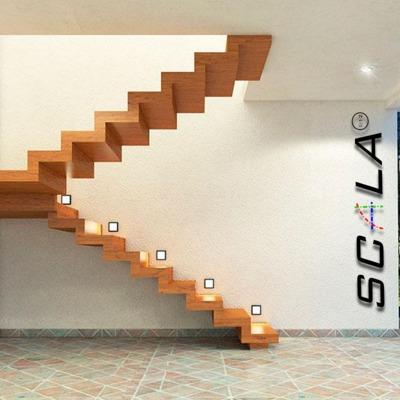 modelo escalera vista