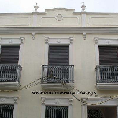 Modekons prefabricados s l moguer - Molduras para fachadas ...