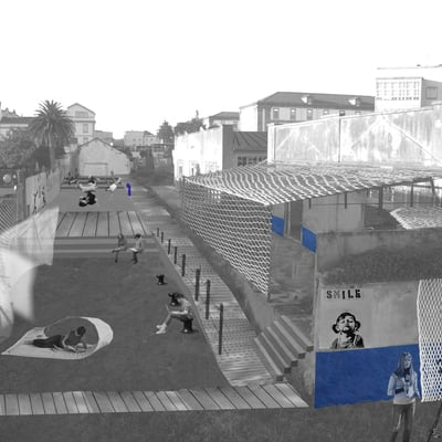 Ordenación de la antigua Comandancia Militar de Obras (A Coruña)