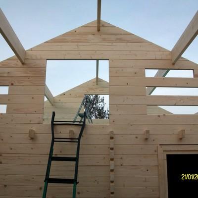 Montaje casa de madera Asva