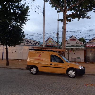 Montaje Casetas Feria de Sevilla
