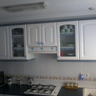 montaje de cocina
