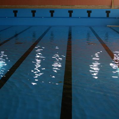 Montaje de piscina