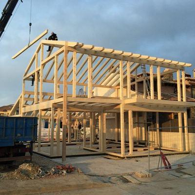 Montaje estructura autoportante TimberOnLive