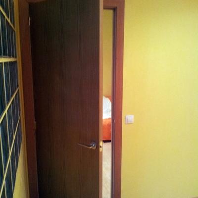 Tabiques de pladur para puertas correderas stunning - Puertas correderas empotradas en tabique ...