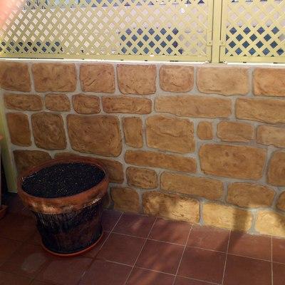 Presupuesto imitaci n piedra online habitissimo for Mortero para ladrillos