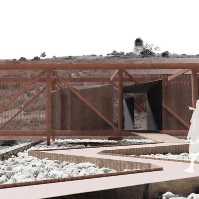 Espacio de Bienvenida del Parque Arqueológico Municipal Puesto de Contraataque N8