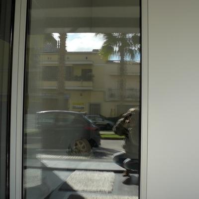 Mostrador puerta Technal