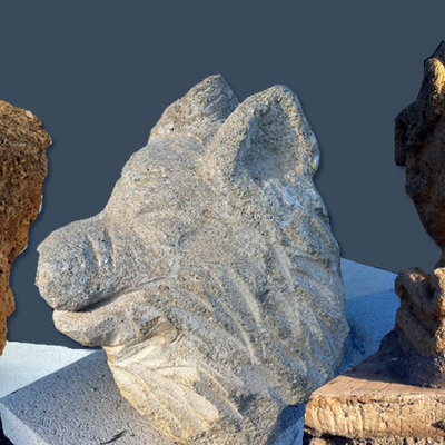 Motivos escultóricos en piedra.