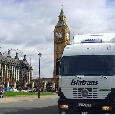 Mudanza en Londres (Reino Unido)