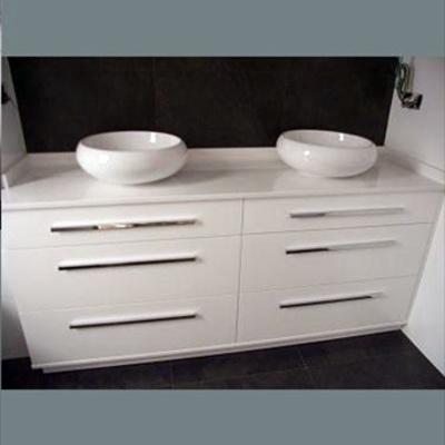 Muebel con cajones y lavabos tipo bol