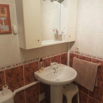 Cambio de lavabo con pedestal por mueble.