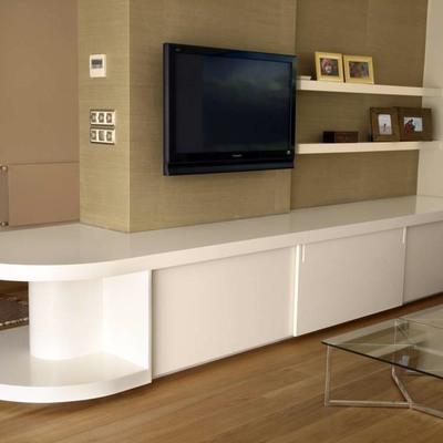 mueble bajo para salon