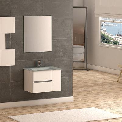 Mueble de baño colgado
