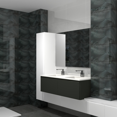 Mueble de baño modelo ebro.