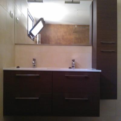 mueble de baño, reforma integral de baño