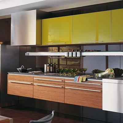 Mueble de Cocina Aluminio Anonizado
