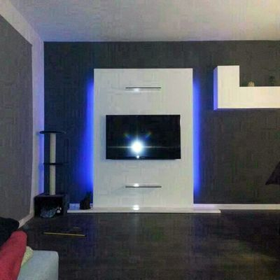 mueble tv lacado brillo