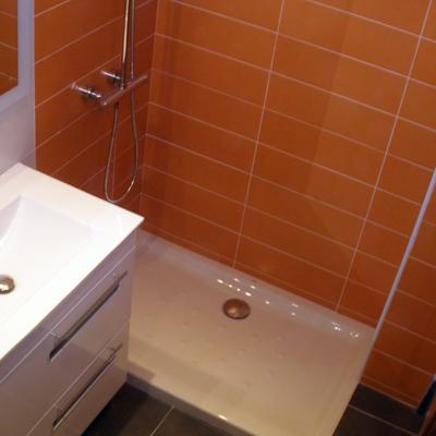 Mueble y plato de ducha