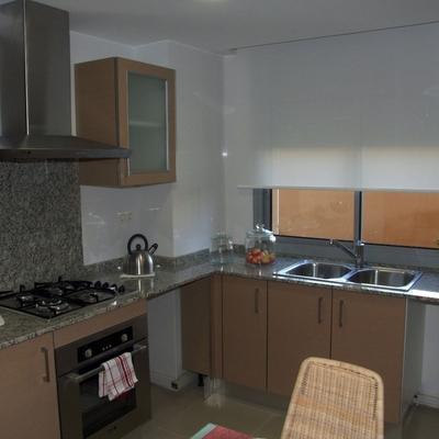 Muebles de cocina, fregadera y electrodomesticos