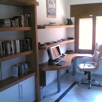 Muebles de estudio.