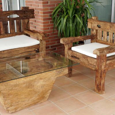Muebles y esculturas de Indonesia -Girona y Barcelona