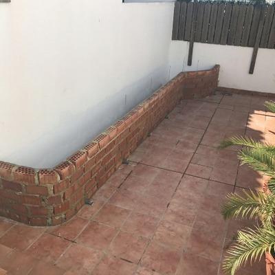 Realizacion de arriate/jardinera