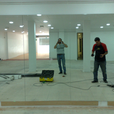 Mural de espejo