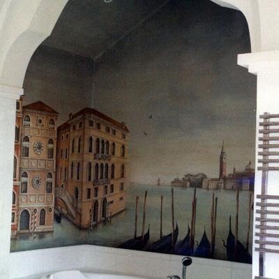 Mural Veneciano
