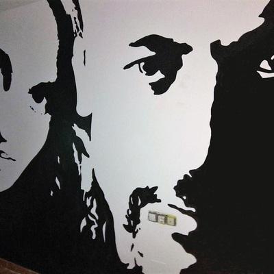 Mural dormitorio